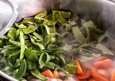 curso macrobiótica verduras